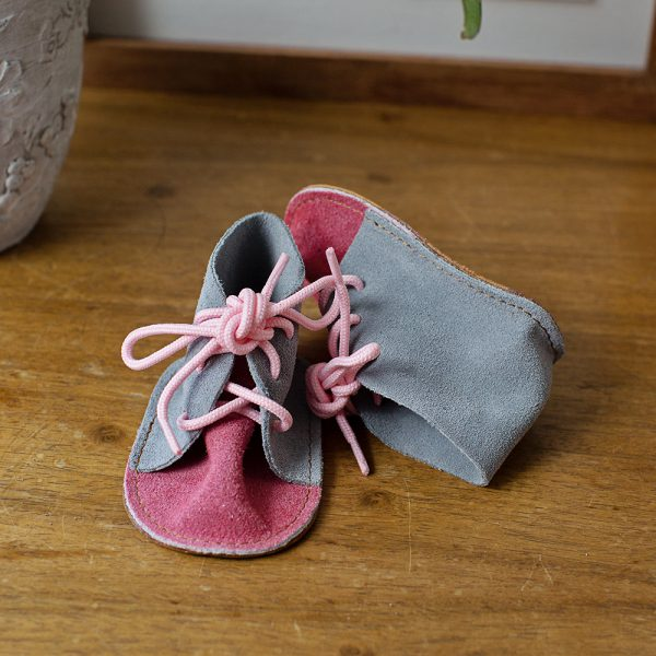 6-12 Months Vellies Girls Two Tone